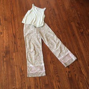 DKNY Pajama bottom and free Tank Top